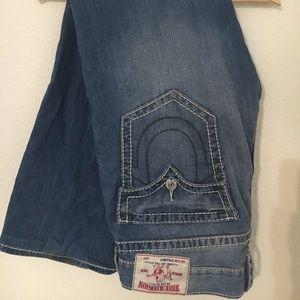 True religion distressed men's jeans size 38